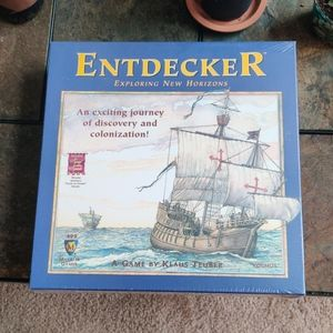 Entdecker Mayfair Games by Klaus Teuber New in Box